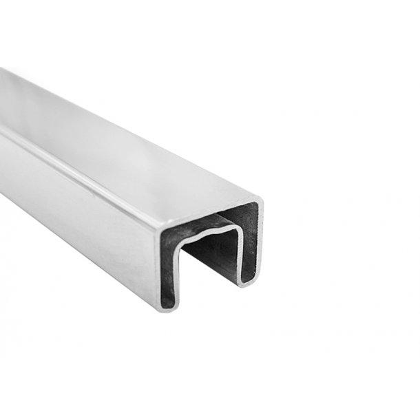 25mm topplist i stål, 290cm