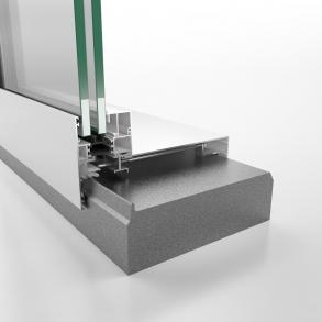 Glasspartier til sandwich-konstruksjon