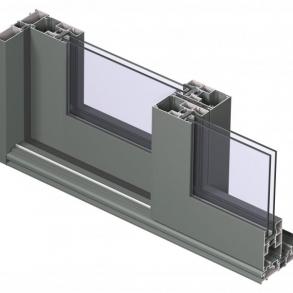 CP 130 - Heve-skyvedør for fasade