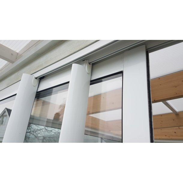3-delt isolert skyvedør for vinterhage, 300x210cm