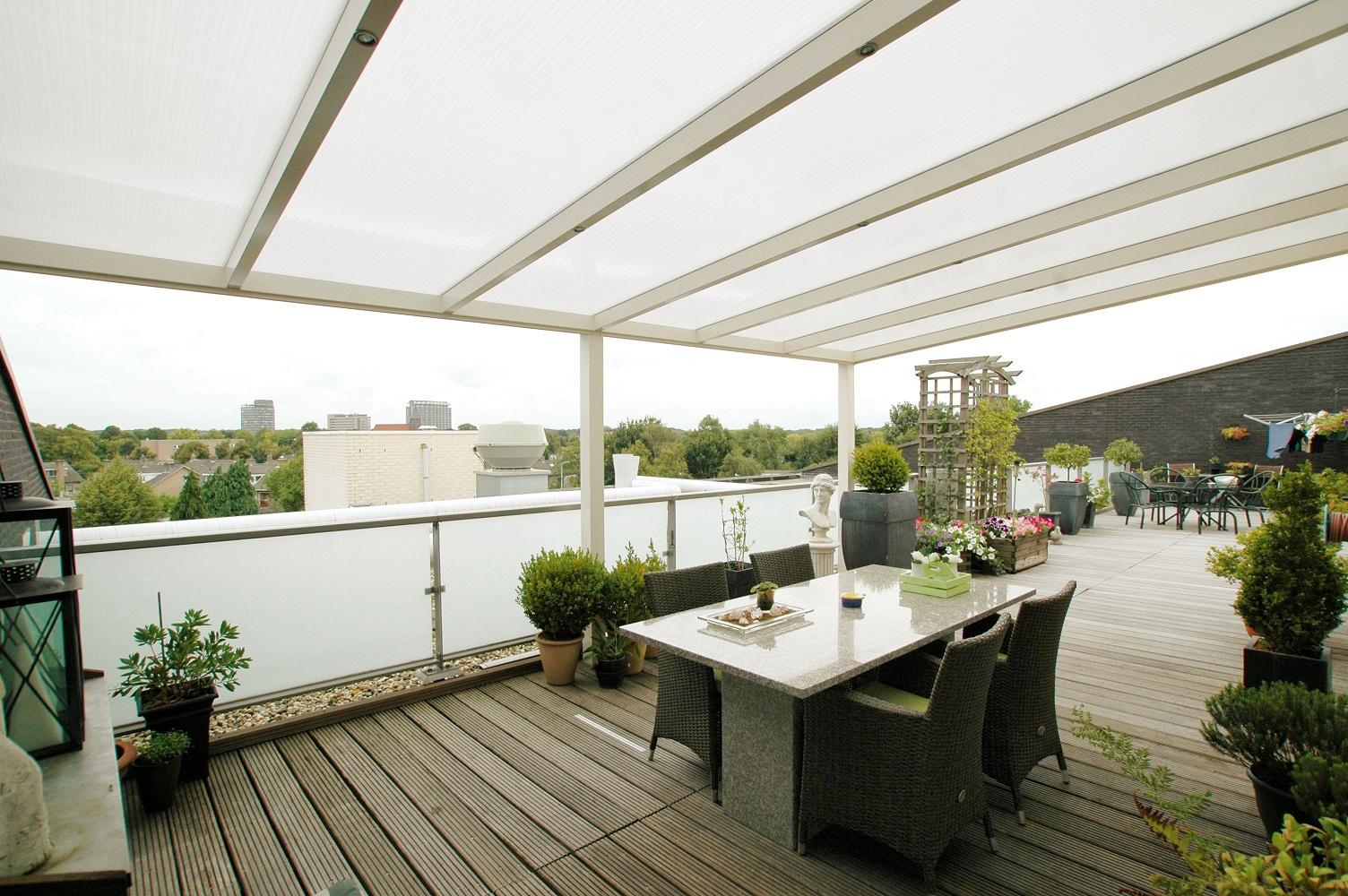 Bilder verandatak - Verandatak i aluminium - Lyse Rom